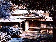 O-Senseis dojo i Iwama. Bilder från februari 1999 av Carl-Johan Sanglert